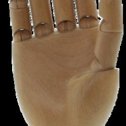 Gliederhände aus Holz